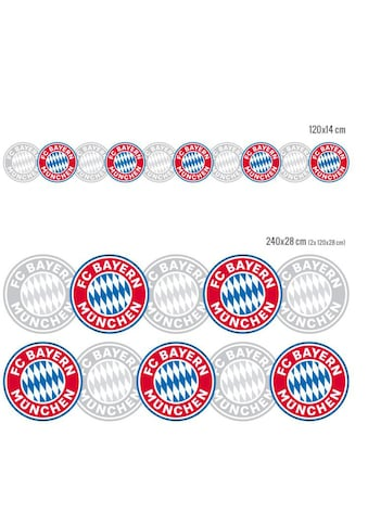 Wall-Art Wandtattoo »FC Bayern München Bordüre« kaufen