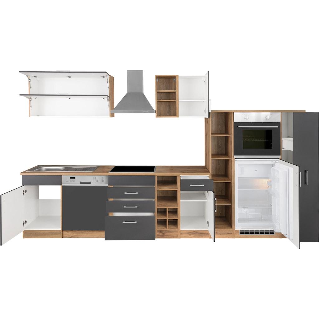 HELD MÖBEL Küchenzeile »Colmar«, mit E-Geräten, Breite 360 cm