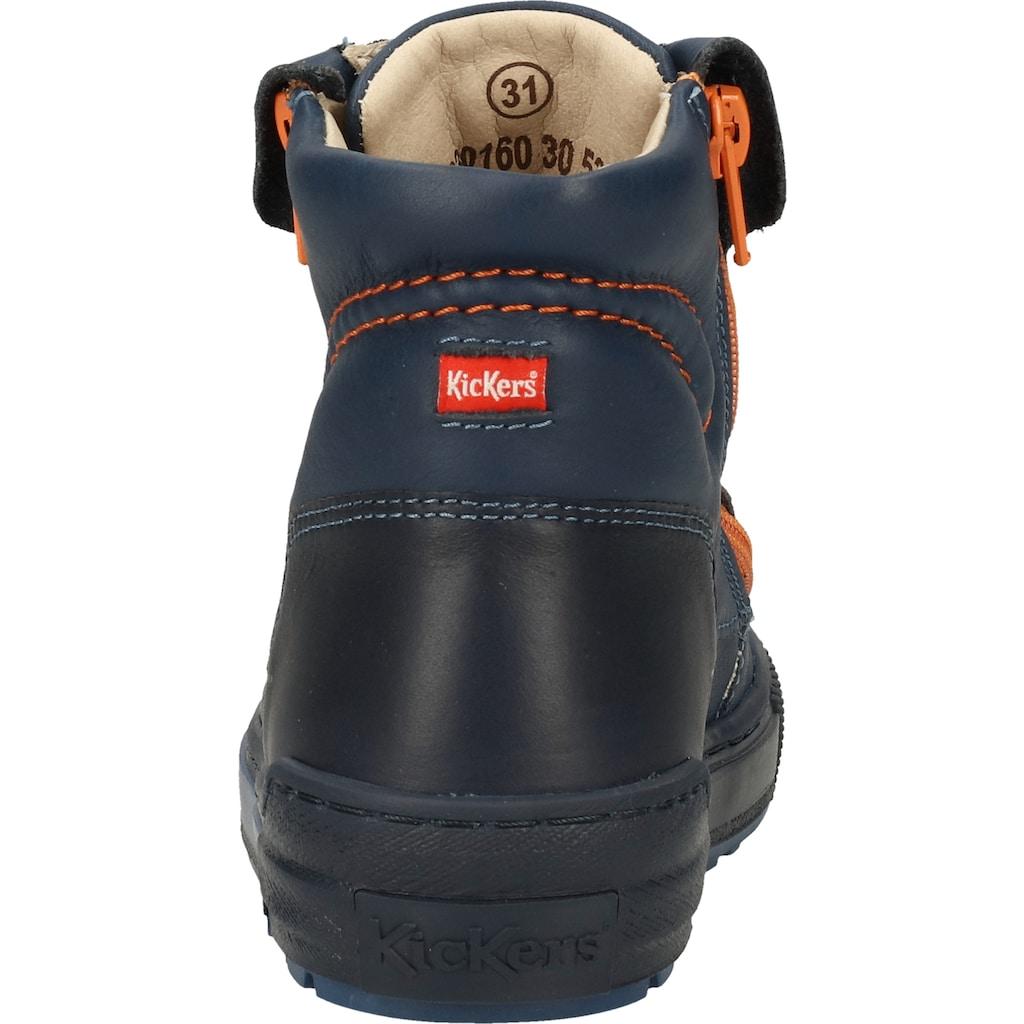 Kickers Schnürstiefelette »Leder«