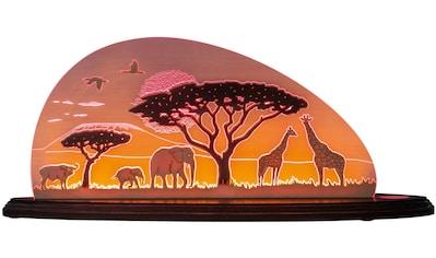 Weigla LED Dekolicht »Safari«, 1 St., Neutralweiß, beidseitiges Motiv/ Motiv Toskana,... kaufen