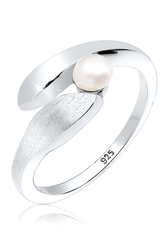 Elli Perlenring »Wickelring Süßwasserzuchtperle 925 Silber« kaufen