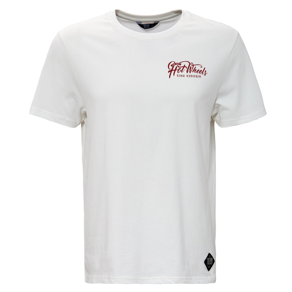 KingKerosin Print-Shirt »Hot Wheels«, mit Back-Print