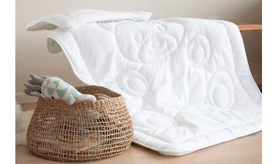 Jekatex Kinderbettdecke + Kopfkissen »Bärchen«, (Spar-Set), kuscheliges Bettdecken-Set... kaufen