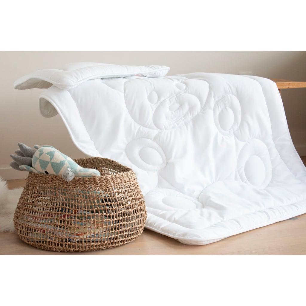 Jekatex Kinderbettdecke + Kopfkissen »Bärchen«, (Spar-Set), kuscheliges Bettdecken-Set für ihr Kind!