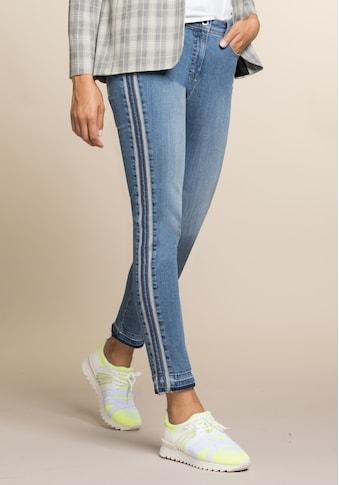 bianca 5-Pocket-Jeans »SHAPE«, coole Denim-Waschung mit tonigen Galonstreifen kaufen