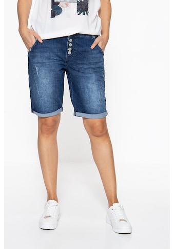 ATT Jeans Jeansshorts »Gwen«, mit Zierstickerei kaufen
