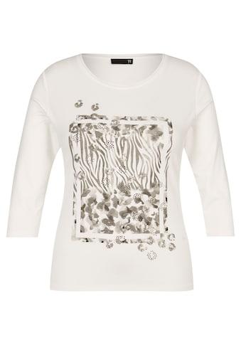 Thomas Rabe Print-Shirt, mit Front-Print und Dekosteinen kaufen