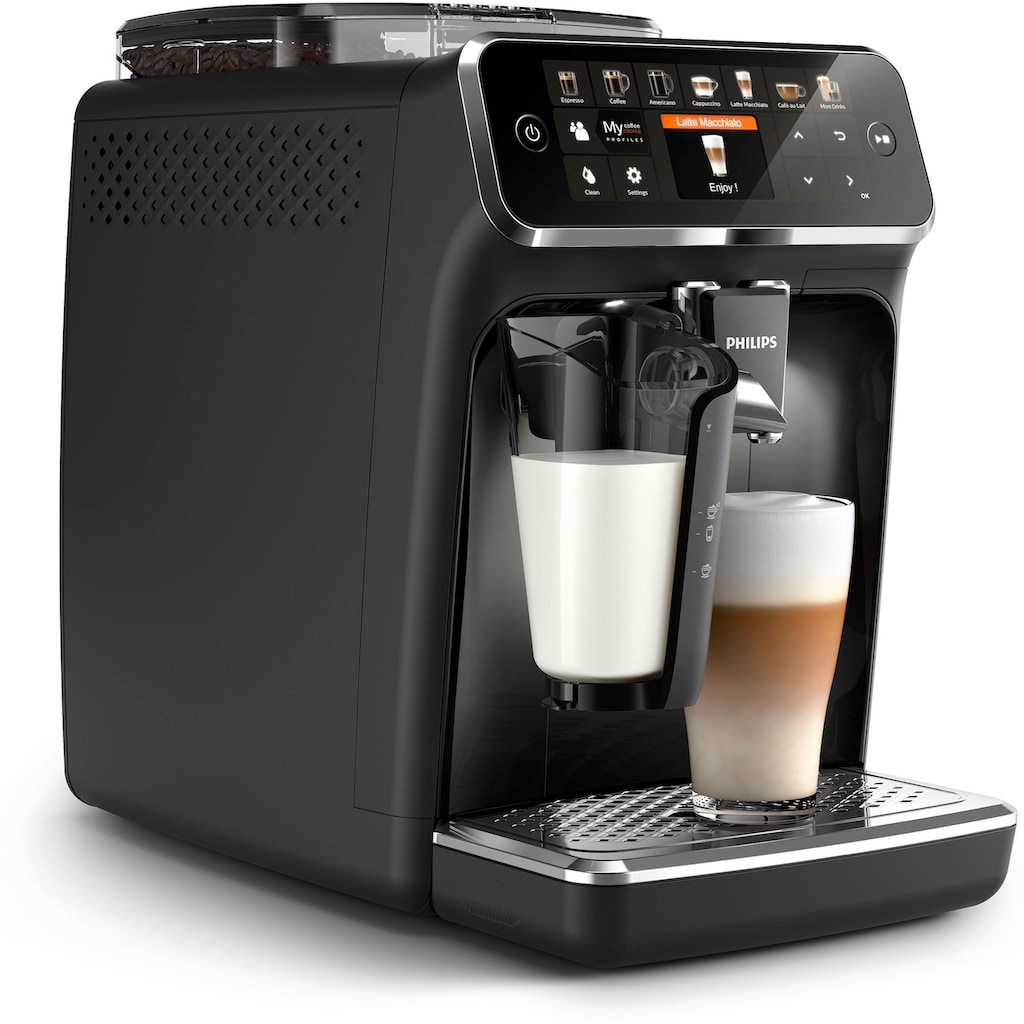Philips Kaffeevollautomat »5400 Series EP5441/50 LatteGo«, mattschwarz