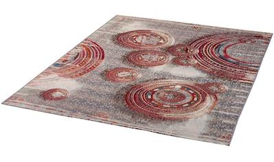 Dekowe Teppich »Liya«, rechteckig, 5 mm Höhe, Flachgewebe, In- und Outdoor geeignet, Wohnzimmer kaufen