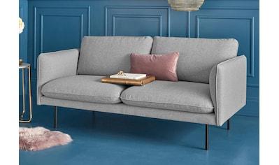 COUCH♥ 2-Sitzer »Levon«, in moderner Optik, mit Metallbeinen, COUCH Lieblingsstücke kaufen