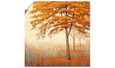 Artland Wandbild »Herbst Baum I«, Bäume, (1 St.), in vielen Größen & Produktarten... kaufen