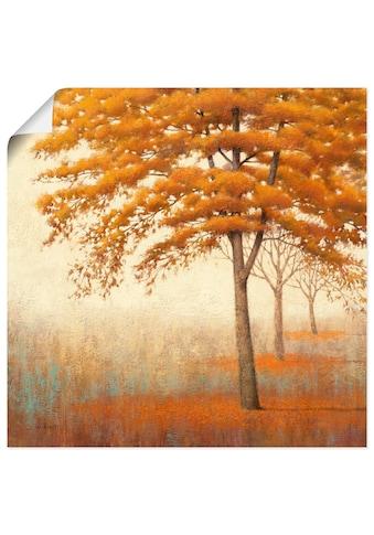 Artland Wandbild »Herbst Baum I« kaufen