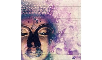 queence Holzbild »Selma«, Buddha, (1 St.) kaufen