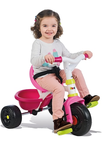 Smoby Dreirad »Be Fun, rosa«, Made in Europe kaufen