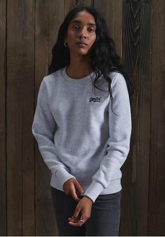 Superdry Sweatshirt »ORANGE LABEL CREW SWEAT« kaufen