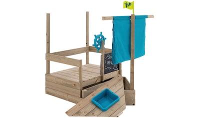 50NRTH Sandkasten »AHOY Piratenschiff«, mit ausziehbarem Sandkasten und viel Zubehör kaufen