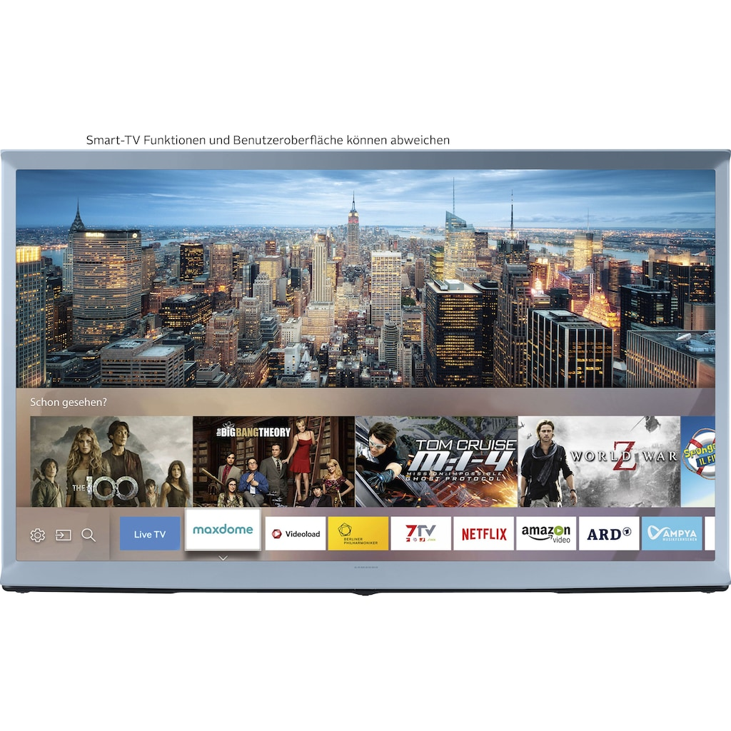 "Samsung QLED-Fernseher »49LS01T ""The Serif""«, 123 cm/49 "", 4K Ultra HD, Smart-TV"
