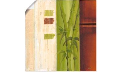 Artland Wandbild »Bambus I«, Gräser, (1 St.), in vielen Größen & Produktarten -... kaufen