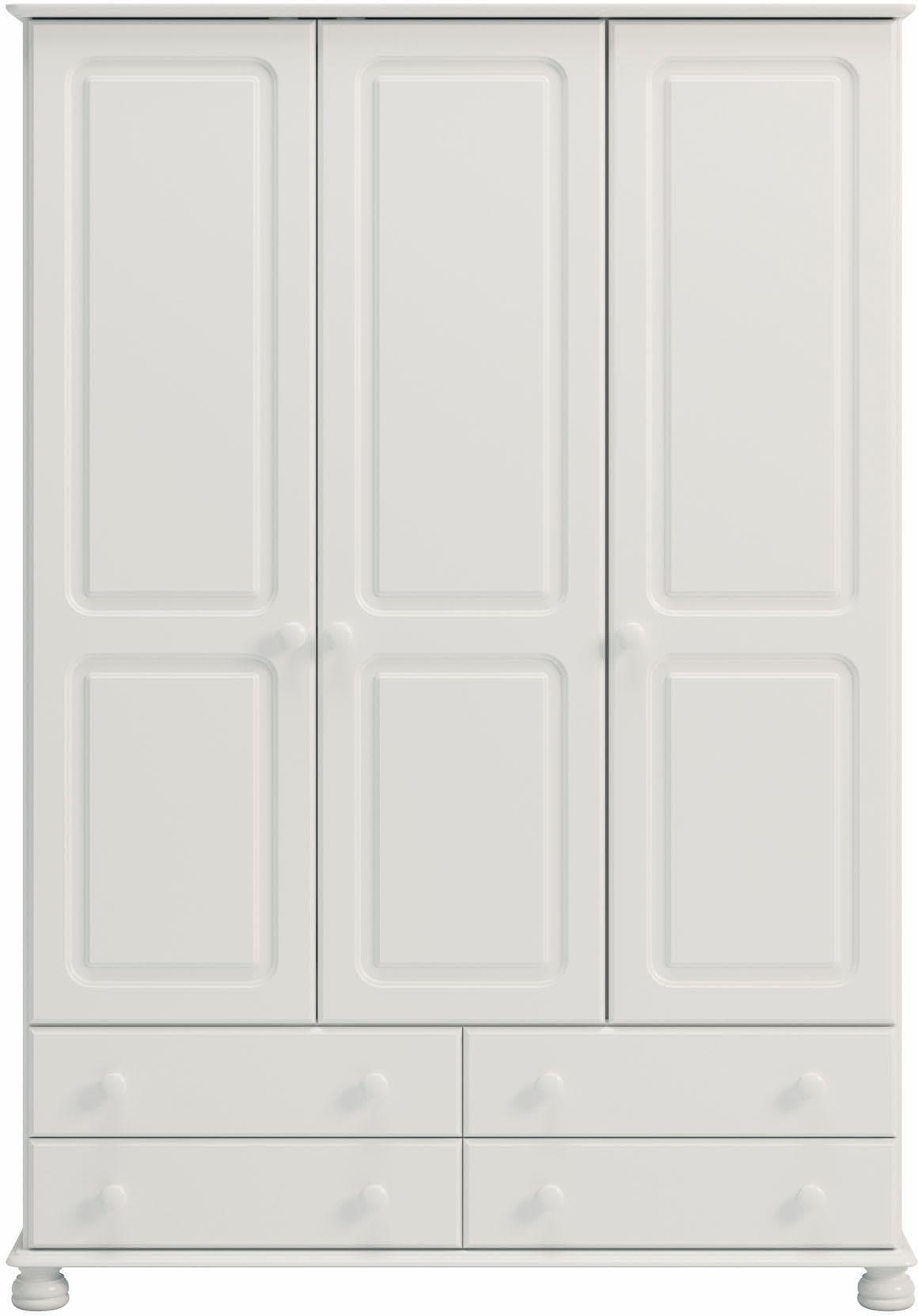 Home Affaire Kleiderschrank Richmond Mit 3 Turen Und 4 Schubladen Breite 129 Cm