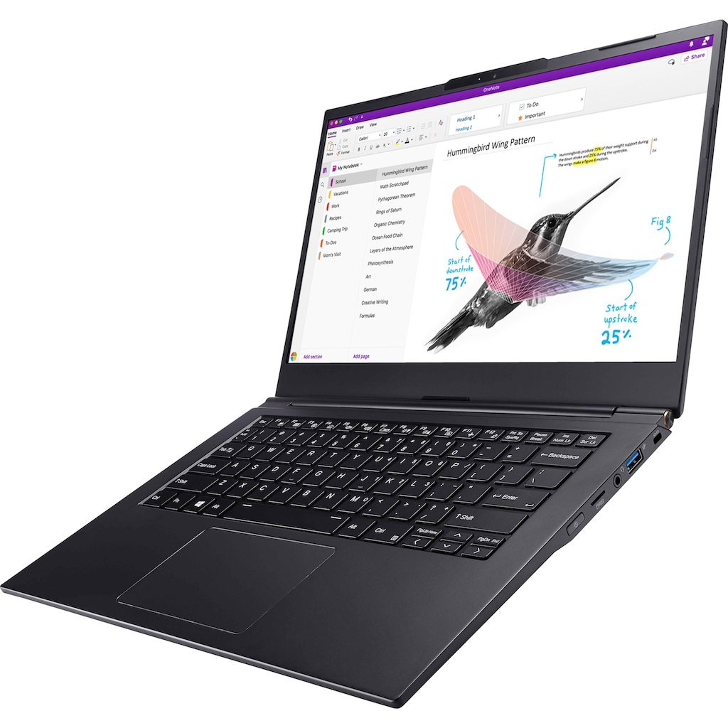 "Hyrican Business-Notebook »NOT01623«, (35,56 cm/14 "" Intel Core i5 UHD Graphics 620\r\n 1000 GB SSD), Kostenloses Upgrade auf Windows 11, sobald verfügbar"