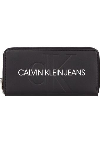 Calvin Klein Jeans Geldbörse »ZIP AROUND«, mit Reißverschluss-Münzfach kaufen