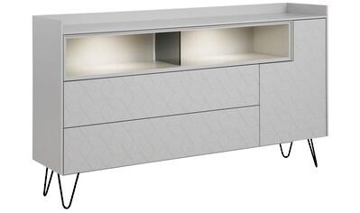 Villeroy & Boch Sideboard »AMARA CARRÉ«, mit Haarnadelfuß, 2 offene Fächer, Breite 178 cm kaufen