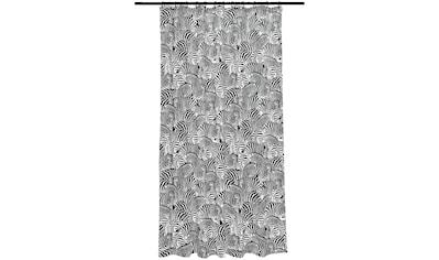 SEEMANNGARN Duschvorhang »Zebra«, schwarz/weiß, 180x200 cm kaufen