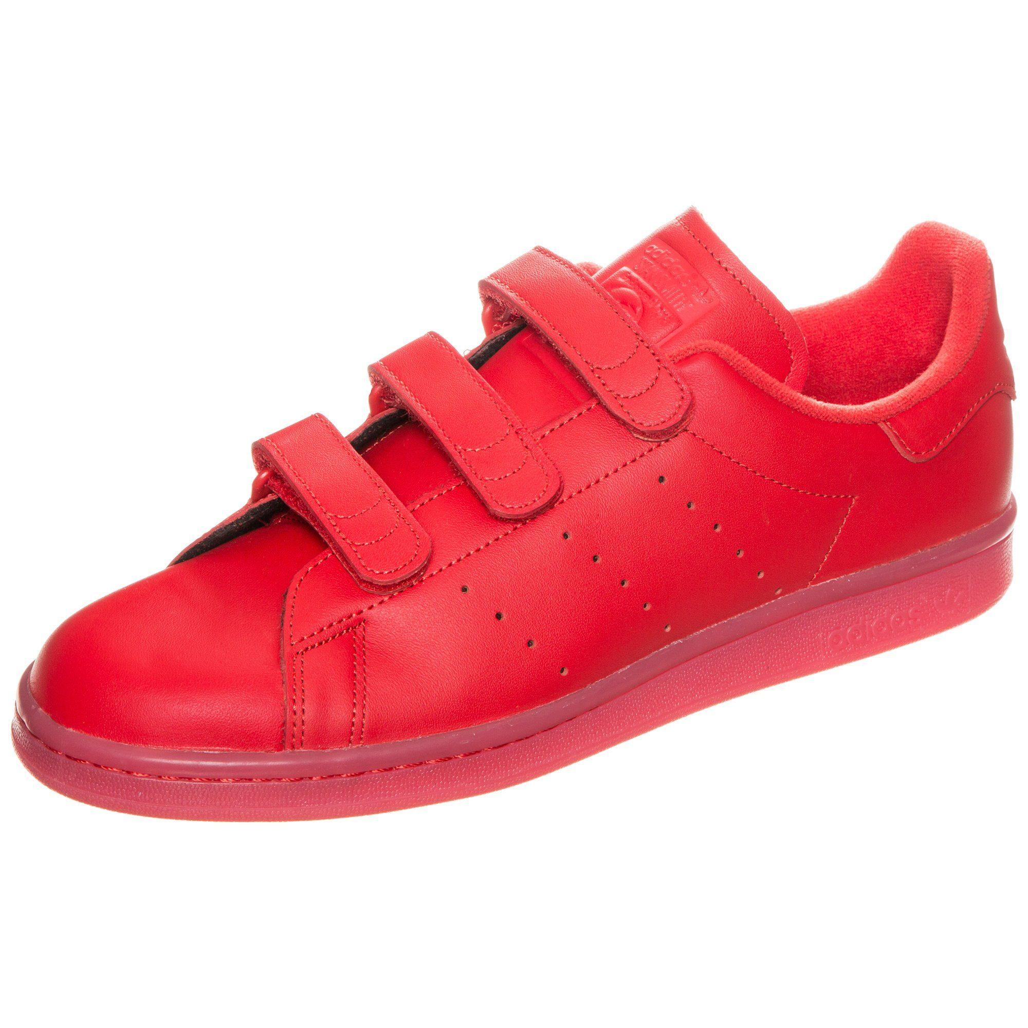 adidas Originals Stan Smith CF Sneaker Herren   Schuhe   Rot   Cf - Leder   Adidas Originals
