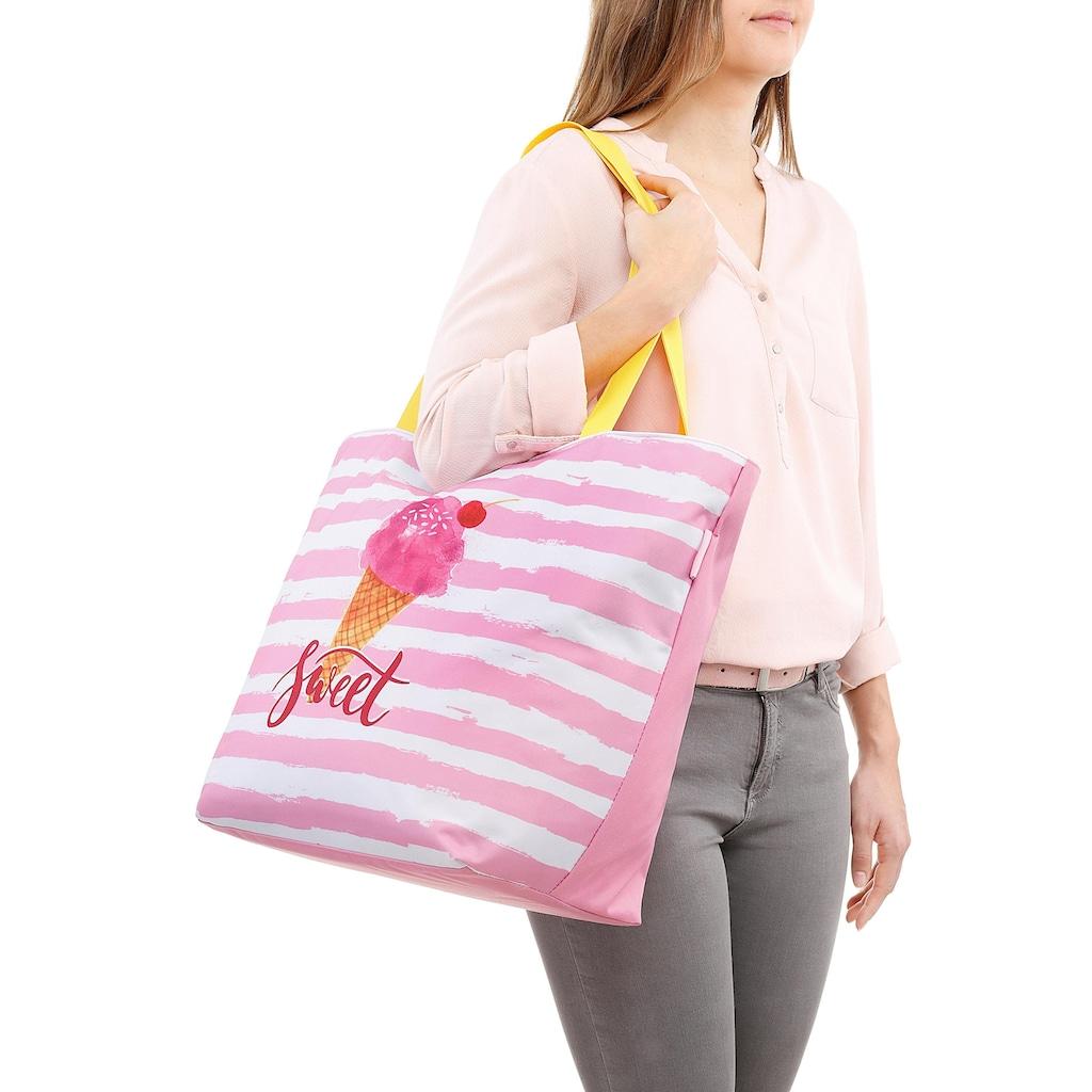 fabrizio® Strandtasche, mit viel Stauraum für Badeutensilien