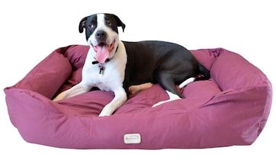 ARMARKAT Hundebett »D01FJH - L«, bordeaux, verschiedene Größen kaufen