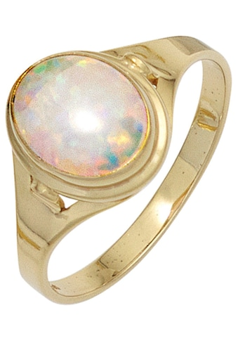 JOBO Goldring, 333 Gold mit synthetischem Opal kaufen