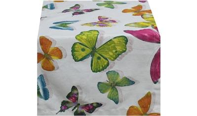 HOSSNER - HOMECOLLECTION Tischläufer »Pillango«, (1 St.) kaufen