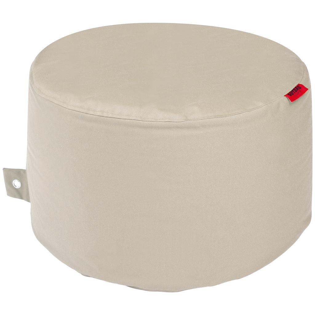 OUTBAG Sitzsack »Rock Plus«, wetterfest, für den Außenbereich, Ø: 60 cm