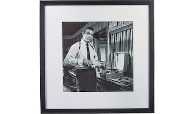 G&C Bild »Celebrities: Sean Connery«, 40/40 cm, gerahmt kaufen