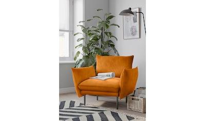 andas Sessel »Stine«, Besonderes Design durch Kissenoptik und Keder, Design by Morten Georgsen kaufen