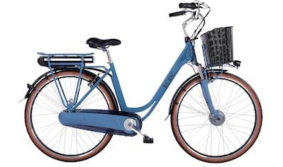 LLobe E-Bike »Blue Motion 2.0, 13,2Ah«, (mit Fahrradkorb) kaufen