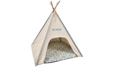 HEIM Hundehöhle und Katzenhöhle »Tipi - Zelt My Home«, BxLxH: 68x68x80 cm kaufen