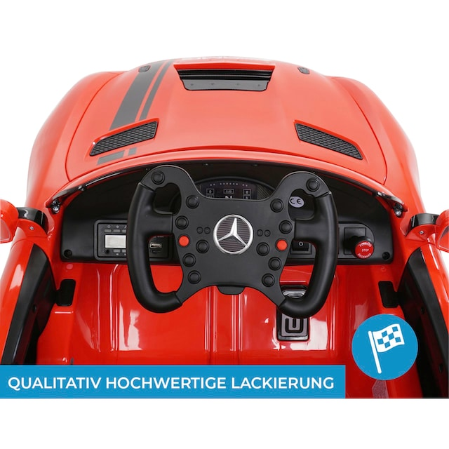 MIWEBA Elektro-Kinderauto »Mercedes AMG GT4 Sport Edition«, für Kinder ab 3 Jahre, 12 V