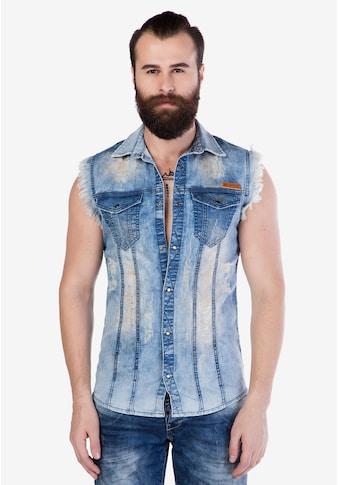 Cipo & Baxx Jeansweste, mit Fronttaschen kaufen