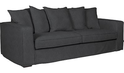 furninova 2,5-Sitzer »Montego Night«, inklusive 5 Rückenkissen, abnehmbarer und... kaufen