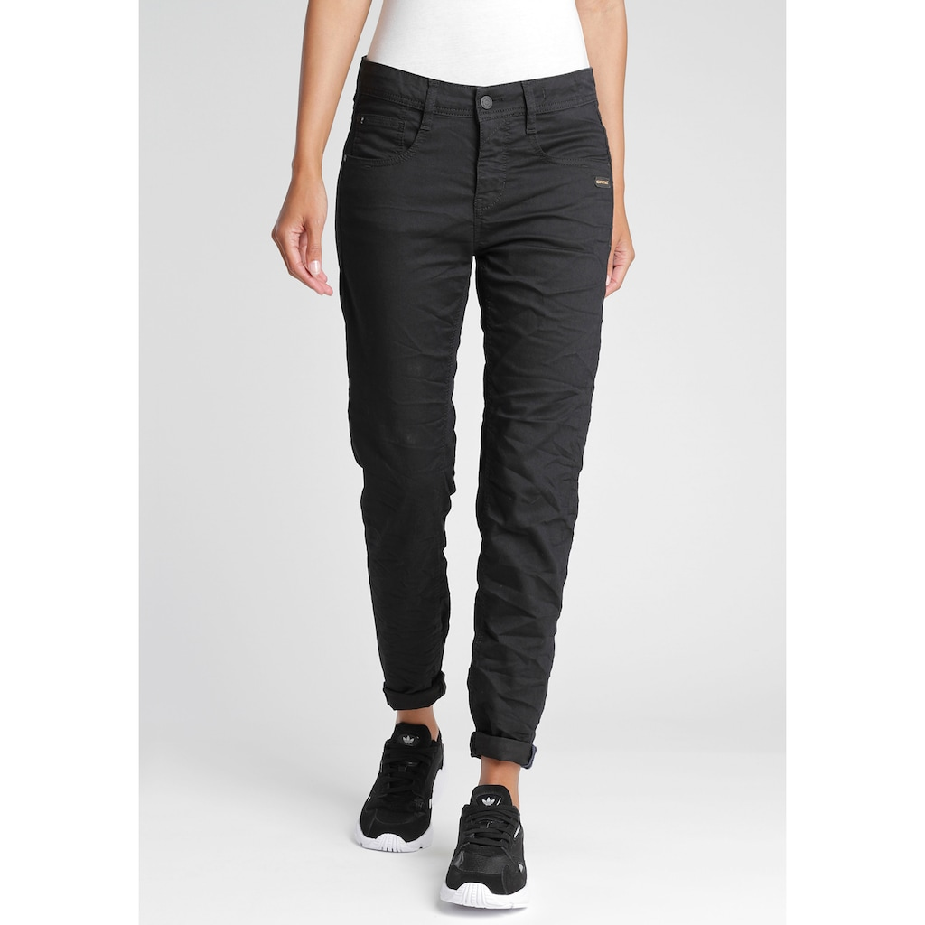 GANG 5-Pocket-Jeans »Amelie«, mit schrägen tief sitzenden Gesäßtaschen