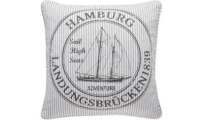 PAD Kissenhülle »OCEAN Hamburg«, (1 St.), mit Themen-Schriftzug kaufen