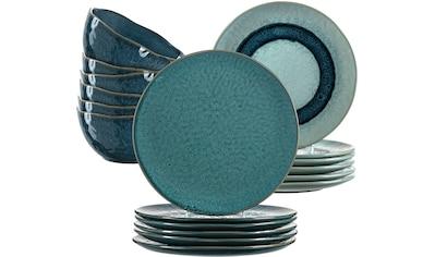 LEONARDO Geschirr-Set »Matera«, (Set, 18 tlg.), rustikaler Look kaufen