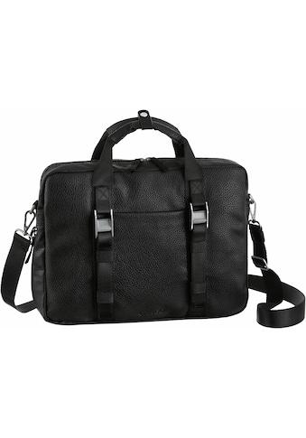 Cargo Businesstasche »Cargo 302, schwarz mit Struktur, 1 Fach« kaufen