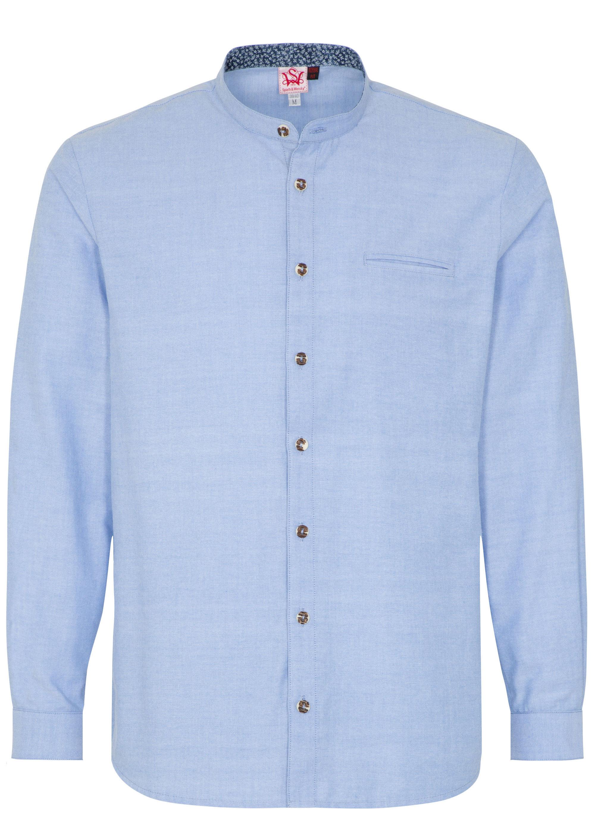 Spieth & Wensky Trachtenhemd ´´Kaviar´´ | Bekleidung > Hemden > Trachtenhemden | Blau | Polyester | Spieth & Wensky