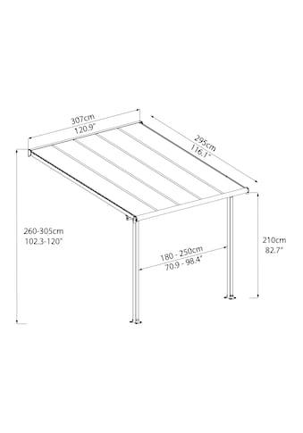Palram Terrassendach »Olympia 3x3«, BxT: 307x295 cm kaufen