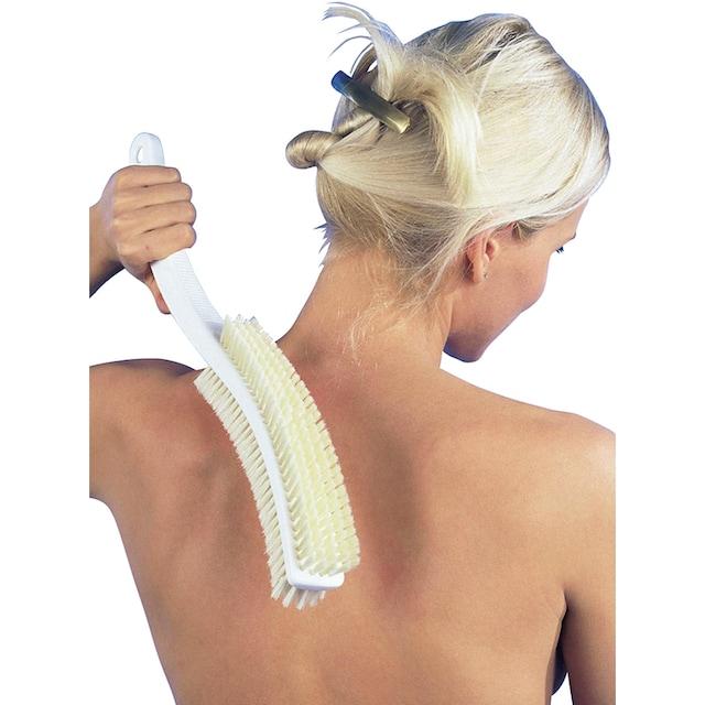 Körperbürste mit seidenweichen Naturborsten