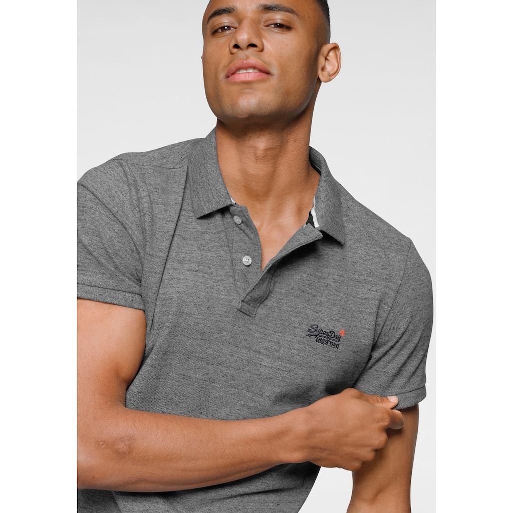 Superdry Poloshirt »CLASSIC PIQUE POLO«