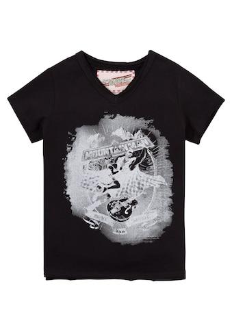 Andreas Gabalier Kollektion Trachtenshirt, Kinder mit Printmotiv kaufen