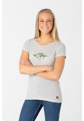 SUPER.NATURAL T-Shirt »W GREEN CITIES TEE«, atmungsaktiver Merino-Materialmix kaufen